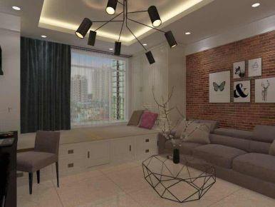 廊坊小户型现代风格家庭装修设计  剑桥郡一期