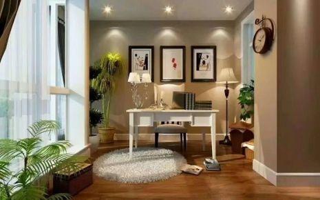 {康嘉裝飾}-西安220平米美式風格家庭裝修設計