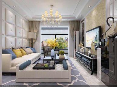廊坊欧式风格两房装修设计欣赏 京南绿洲小区
