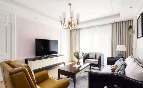 烟台美式风格家庭装修设计效果图欣赏