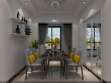 廊坊欧式风格三房装修设计 固安星河湾