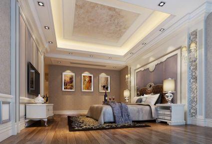 福州欧式风格四居室装修设计效果图