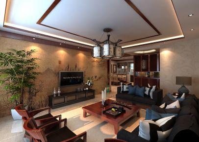 长春亚泰梧桐公馆 中式风格三房装修设计
