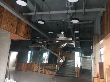 合肥生鲜传奇饭店装修设计效果图