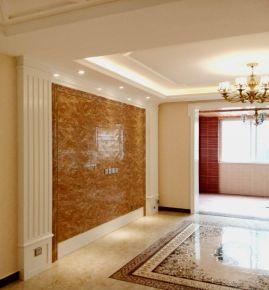 郑州中式风格三房装修设计效果图欣赏 理想名城13号楼