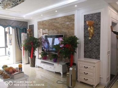 郑州简约风格三房家庭装修设计欣赏 欢乐金街20号楼