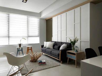 苏州湖滨国际小区 欧式风格三房装修设计效果图