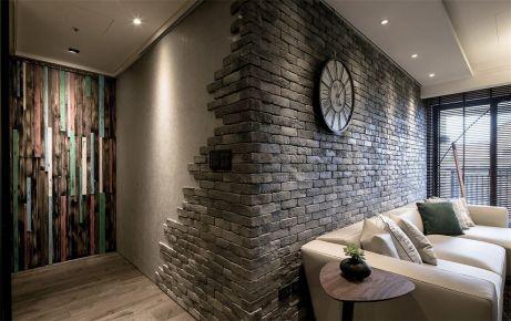 东莞轻工业风三房装修 复古风格三居室装修效果图欣赏