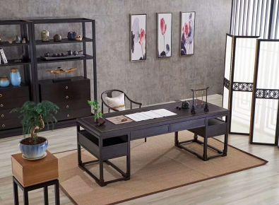 绍兴迎恩府 新中式四居室装修设计