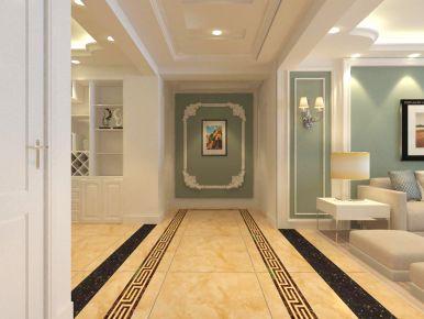 烟台欧式风格三居室装修 欧式风格家庭装修效果图