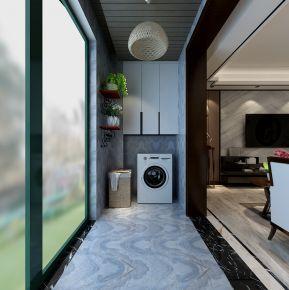 西安丹軒梓園 現代風格三居室裝修設計效果圖