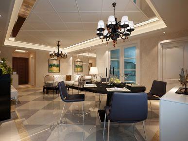 西安曲池坊 现代风格三房装修设计效果图欣赏