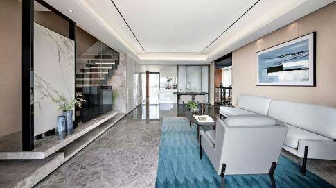 绍兴大坂风情 现代简约四居室装修设计