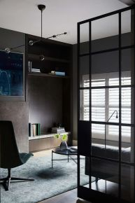 长沙澳海澜庭 现代风格复式装修设计效果图