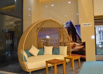 长沙雅乐轩酒店装修设计 现代风格酒店装修效果图