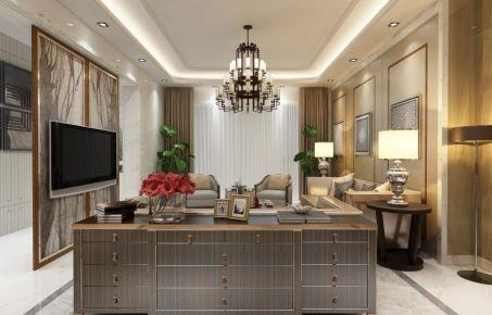 哈尔滨中式风格两房装修设计欣赏 江北万达小区