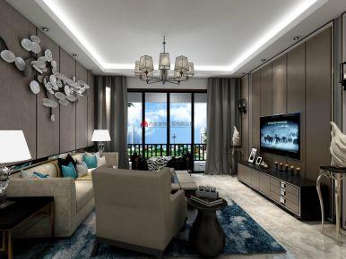 星英半岛陈小姐雅现代风格三房装修设计