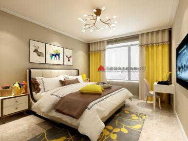 佛山美式风格三房装修设计 美式风格家庭装修效果图