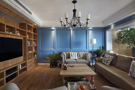泉州北欧风格复式楼装修设计 欧式风格家庭装修效果图