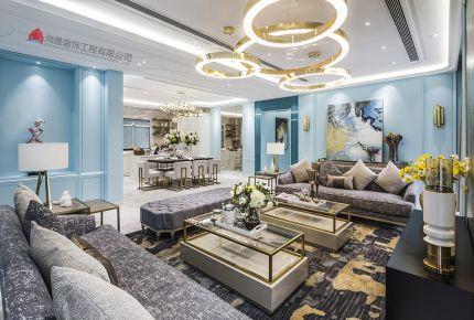 佛山保利星座徐先生雅居港式风格家庭装修欣赏
