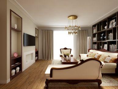 长沙美式风格家庭装修设计效果图 鑫远悦城小区
