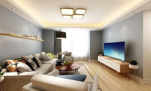 南京欧式风格三房装修设计效果图 万裕龙庭水岸小区