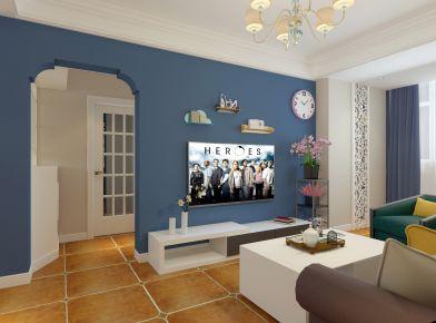 武汉美式风格两房装修设计效果图 美式风格家庭装修设计