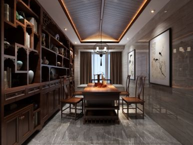 三代同堂的新中式古典之家
