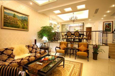 武汉现代东南亚混搭风格家庭装修效果图