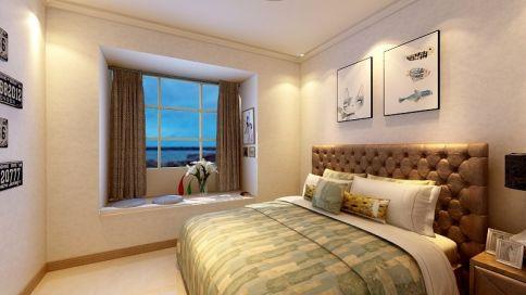 中山大信·时尚家园 欧式风格三房装修设计效果图