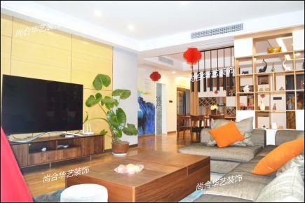 武汉160平米北欧风格四房装修实景效果图