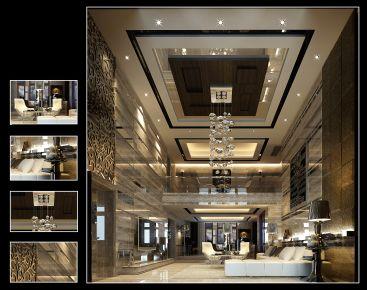 泉州禹州中央海岸陈姐雅居 简约风格复式装修设计