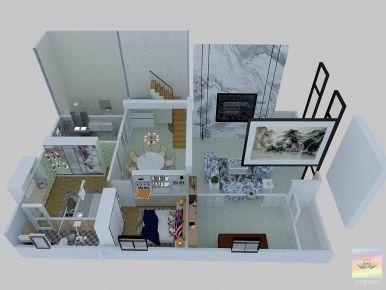惠州张先生自建房别墅装修 现代风格别墅装修设计欣赏
