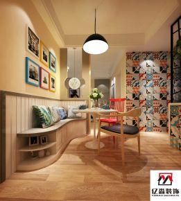 廊坊现代简约风格两房装修设计 御景城小区