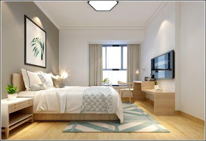 泉州现代风格三房家庭装修效果图 黄先生雅居