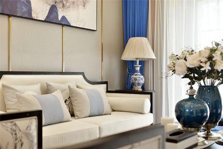 南昌永惠漫谷三房装修 中式风格家庭装修设计效果图