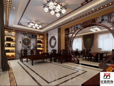 廊坊中式风格风格装修设计 中式别墅装修设计效果图