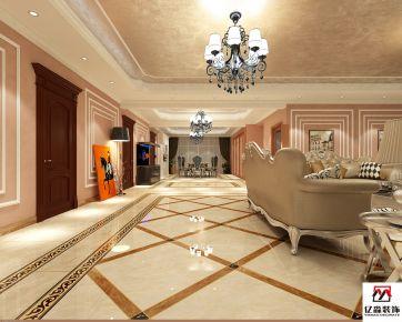 廊坊欧式风格自建别墅装修设计效果图欣赏