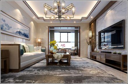 泉州中式风格家庭装修设计效果图 吴姐雅居