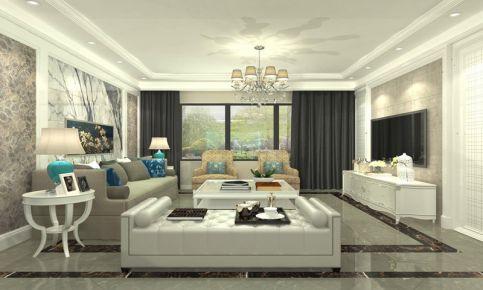 南京紫气钟山 现代风格三房装修设计效果图