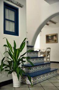 嘉兴御景蓝湾 地中海风格复式楼装修设计效果图