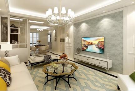 北京简欧风格三房装修  简欧风格家庭装修设计效果图