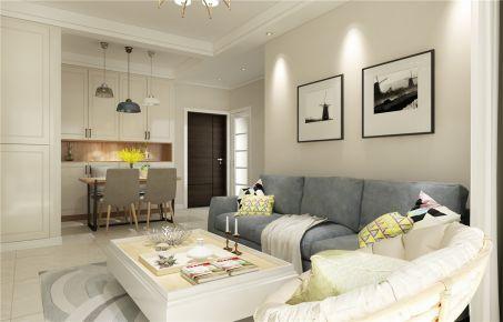 洛阳升龙城 北欧风格两房装修设计-小幸运