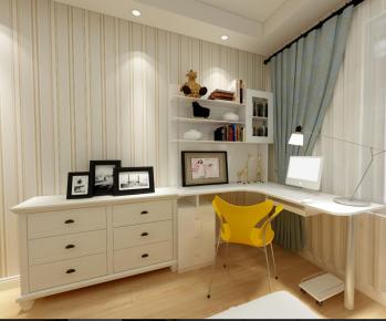 大气实用的现代简约之家 苏州简约风格三房装修设计欣赏