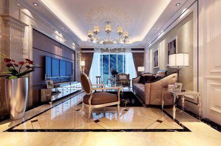 惬意浪漫的现代欧式风格别墅装修设计