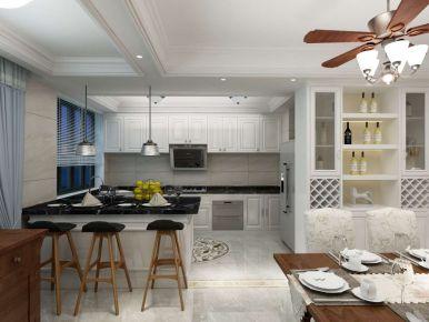 黄金海岸189平米四房装修设计图 89平米美式风格装修