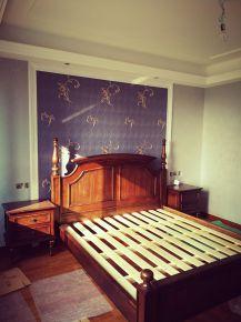 绍兴黄金海岸189平完工图 189平米美式四房装修效果图