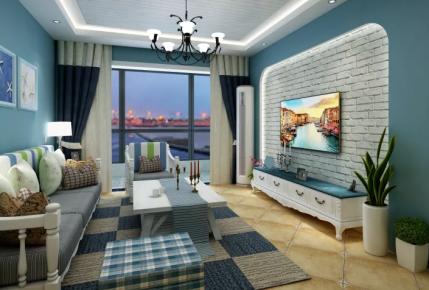 北京地中海风格两房装修 地中海风格家庭装修效果图