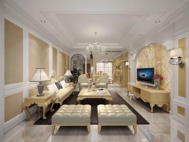 佛山保利悦公馆 欧式风格三房装修设计案例