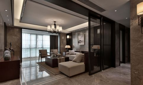 新中式风格家装设计案例 新中式风格家装效果图欣赏